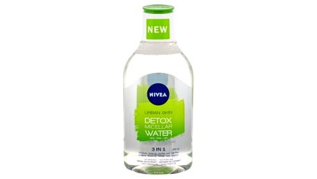 Nivea Essentials Urban Skin Detox 400 ml micelární voda pro ženy