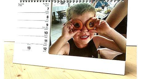 HIT SEZÓNY - Stolní týdenní kalendář - zvlášť část s týdny a část s fotkami.