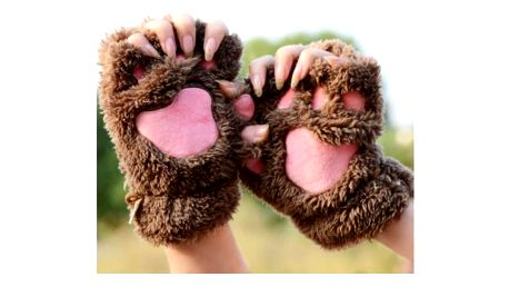Roztomilé dámské rukavice Cutie