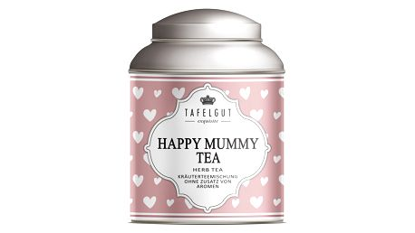 TAFELGUT Mini bylinný čaj pro spokojené maminky - 10 gr, růžová barva, kov