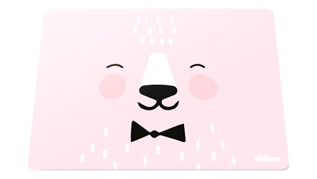 EEF lillemor Silikonové prostírání Pink, růžová barva