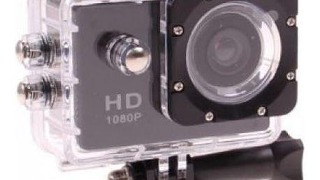 Sportovní kamera Sports HD DV s voděodolným pouzdrem a příslušenstvím