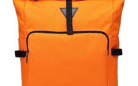 Dámský oranžový batoh Willa 6839