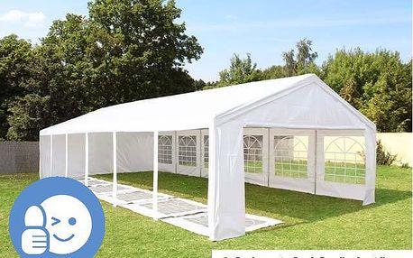 Tradgard CLASSIC 41528 Zahradní párty stan 6 x 12 m - bílá