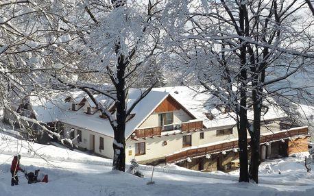 Zima i jaro s wellness a procedurami v Bílých Karpatech na Chatě Jana