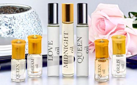 Smyslné olejové parfémy z Orientu: 3 nebo 10 ml