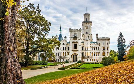 3denní pobyt u zámku Hluboká nad Vltavou