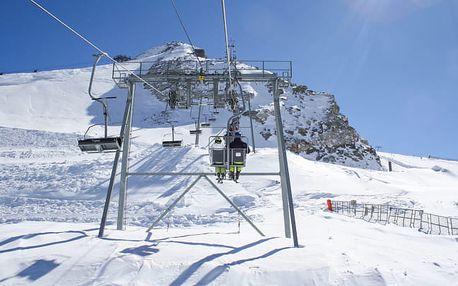 Zillertalské Alpy u sjezdovky i se saunou