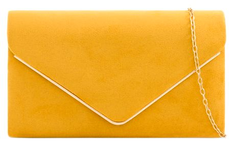 Dámské hořčicově žluté psaníčko Penelopa 1616