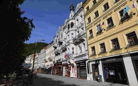Hotel Palacký v Karlových Varech s polopenzí a wellness