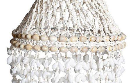 Tine K Home Závěsná lampa - Day by Sea 60 cm, béžová barva, bílá barva, přírodní barva