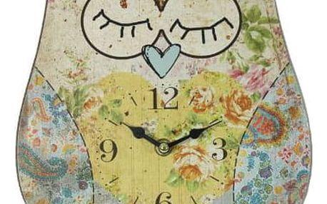 Krásné nástěnné hodiny sova do Vašeho interiéru