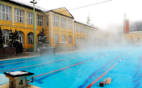 Budapešť se vstupem do bazénů a lázní