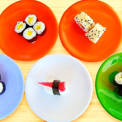Jediné running sushi v Pardubicích: 1,5 nebo 2 h