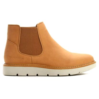 Dámské hnědé kotníkové boty Beau 055