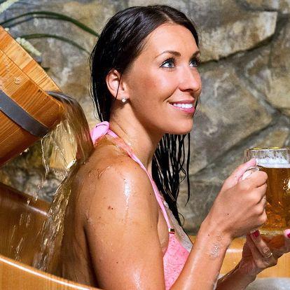 Pobyt s jídlem, wellness a konzumací piva