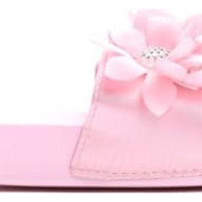 Dámské růžové pantofle Serena 10761F
