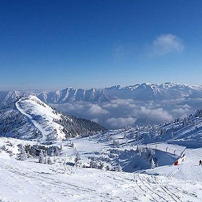 Lyžařský pobyt pro dvě osoby v Rakouských Alpách v českém pensionu Sun se snídaní na 3 dny.