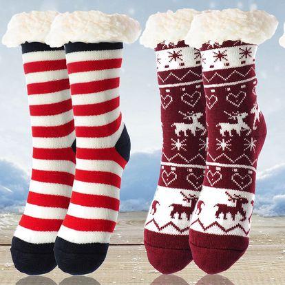 Dámské hřejivé ponožky z ovčí vlny: 18 motivů