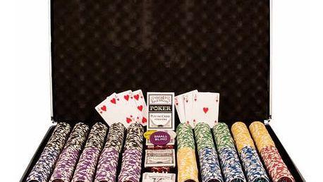 Garthen OCEAN 497 Poker set 1000 ks žetonů hodnoty 5 - 1000