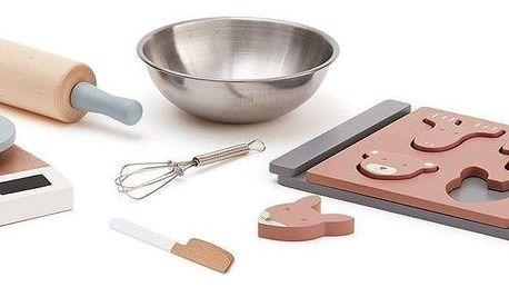 Kids Concept Dětský set na pečení Gingerbread, multi barva, dřevo, kov