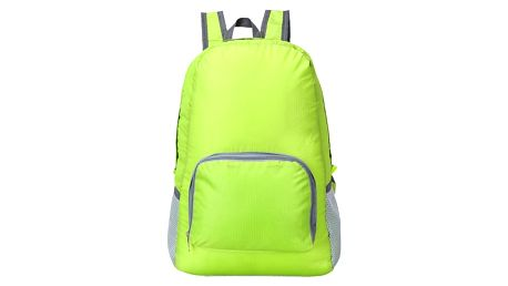 Nepromokavý skládací batoh - zelená barva - dodání do 2 dnů