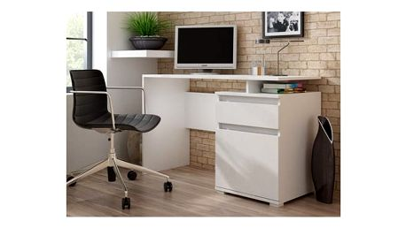 Počítačový stůl KLIO bílý