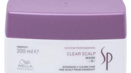 Wella SP Clear Scalp 200 ml maska na vlasy proti lupům pro ženy