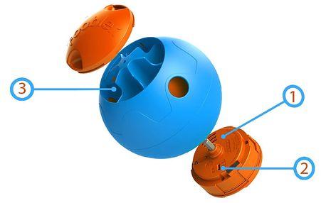Foobler Smart míček pro mazlíčky s postupným dávkováním stravy