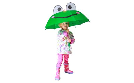 Dětský deštník s motivem žabky