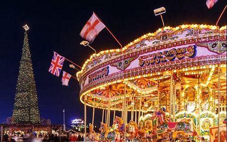 Magický vánoční Londýn, královské památky a skvělé atrakce. 4-denní zájezd s ubytováním