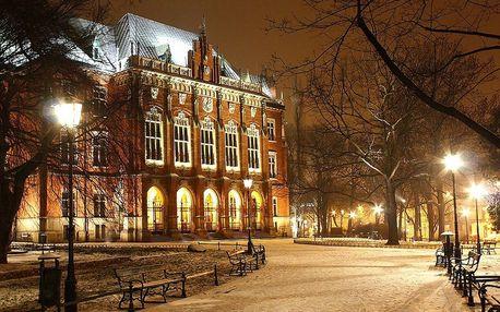 Romance v centru Krakova v hotelu Amadeus ****