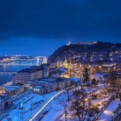 Adventní Budapešť s návštěvou termálních lázní a ubytováním se snídaní