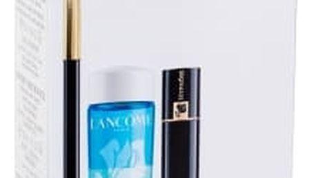 Lancome Le Crayon Khôl dárková kazeta pro ženy tužka na oči Le Crayon Khol 1,14 g + řasenka Hypnose 2 ml 01 Black + odličovač očí Bi-Facil 30 ml + péče o oční okolí Advanced Génifique Yeux 5 ml Black