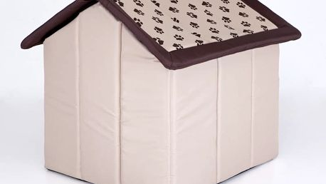 Textilní ručně šitý domeček Reedog z kvalitního materiálu
