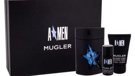 Thierry Mugler A*Men dárková kazeta pro muže toaletní voda 100 ml + sprchový šampon 50 ml + deostick 20 ml