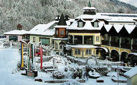 3–4denní wellness pobyt pro 1 s polopenzí v hotelu Raxalpenhof**** v lázních v Rakousku