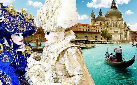 Romantický darček - zájazd na Benátsky karneval