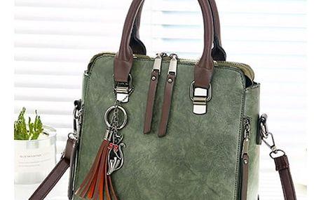 Vintage dámská kabelka přes rameno - 6 barev