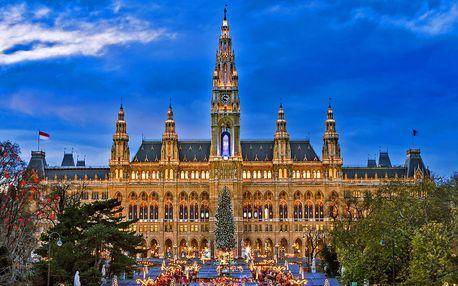 Adventní výlet do Vídně: 16 odjezdových míst