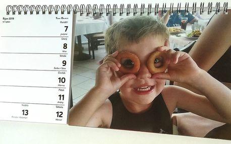 2v1: kalendář a fotokniha z vašich fotografií