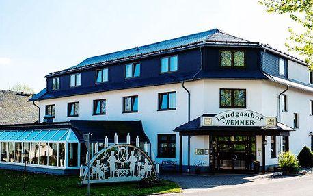 3–8denní pobyt pro 1 s polopenzí v hotelu Landgasthof Wemmer*** v Krušných horách