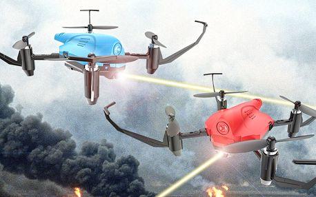 Sada se 2 bojovými drony pro zábavu plnou akce