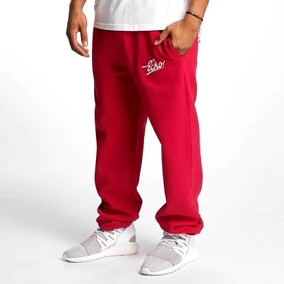 Ecko Unltd. / Sweat Pant Gordon`s Bay in red 2XL