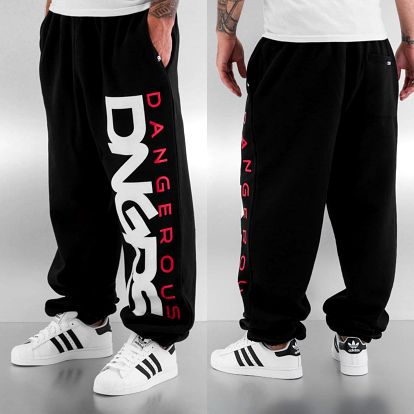 Dangerous DNGRS / Sweat Pant Classic in black 4XL