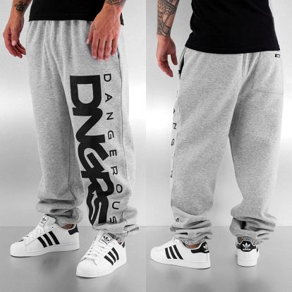 Dangerous DNGRS / Sweat Pant Classic in grey S