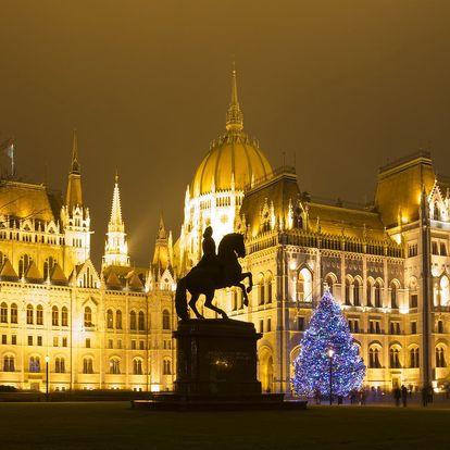 Kouzelná Budapešť s odjezdy z Moravy