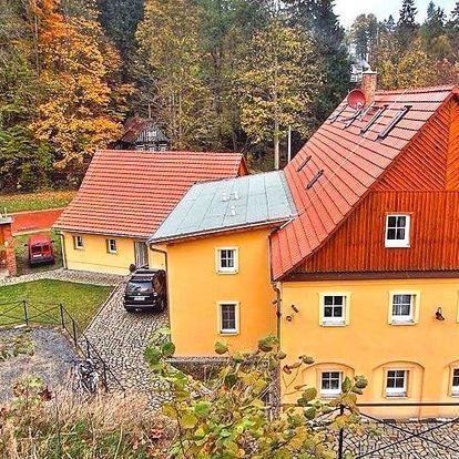 3–5 dní v Českém Švýcarsku s polopenzí a vínem
