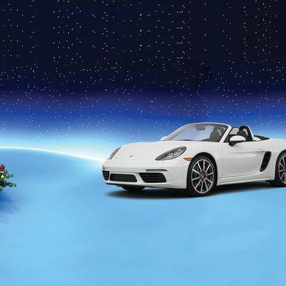 VÁNOČNÍ AKCE: Zážitková jízda v Porsche Boxster