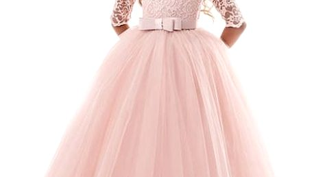 Princeznovské dívčí šaty